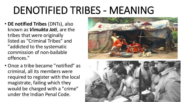 denotified tribes in india 5 638