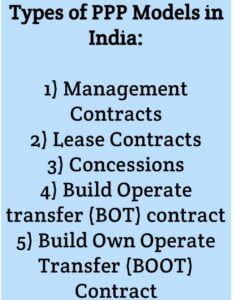 public private partnership in india